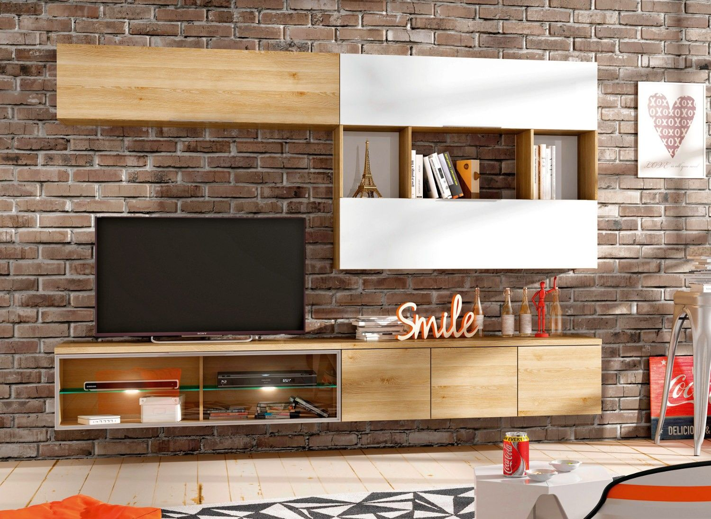 Compacto tv stylus u conforama salones