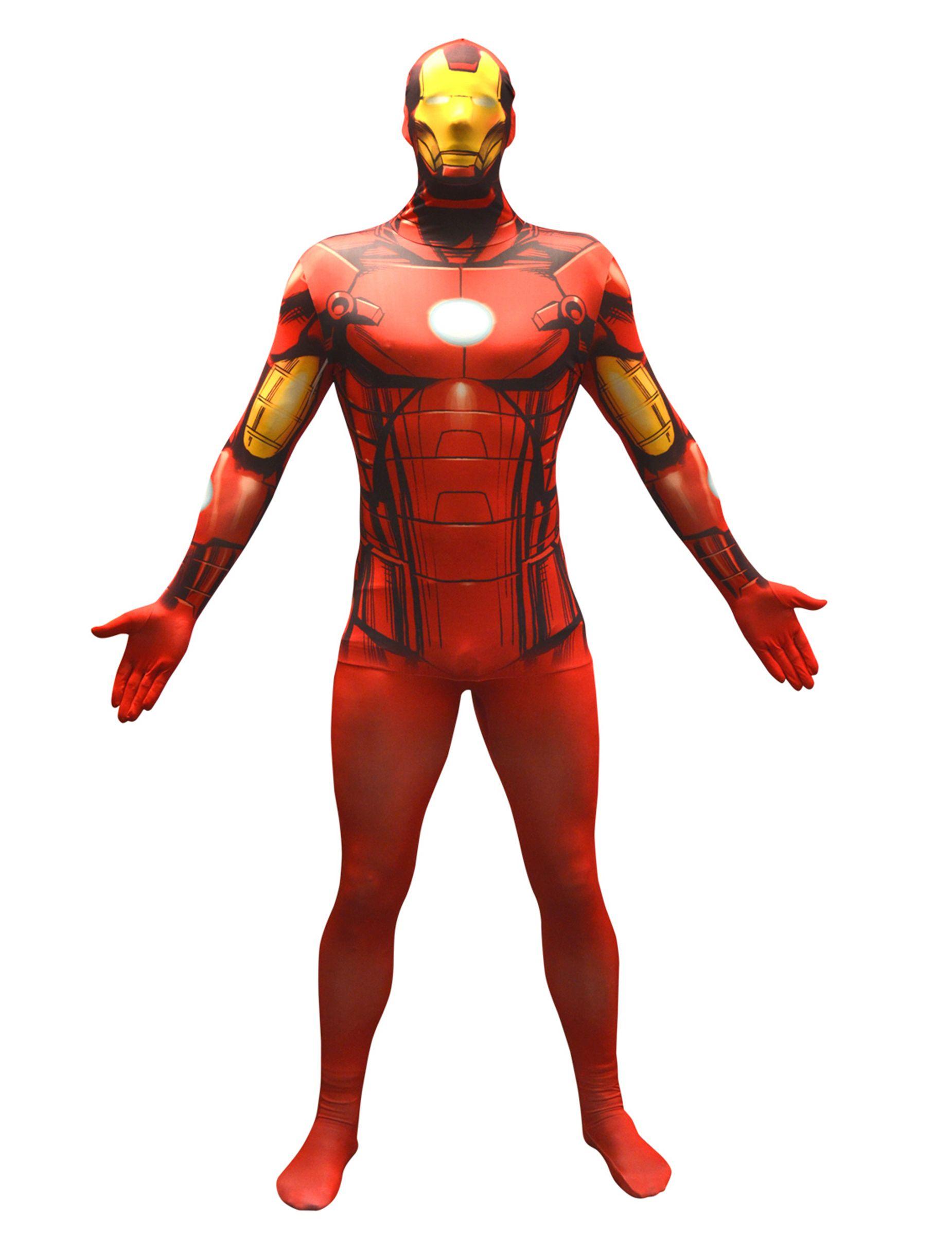 Marvel Iron Man Value Morphsuit Lizenzware Rot Schwarz Gunstige Faschings Kostume Bei Karneval Megastore Der Grosste Karn Superhelden Iron Man Party Artikel