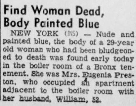 Eugenia Preston Murder Report  Daily Times Of New Philadelphia