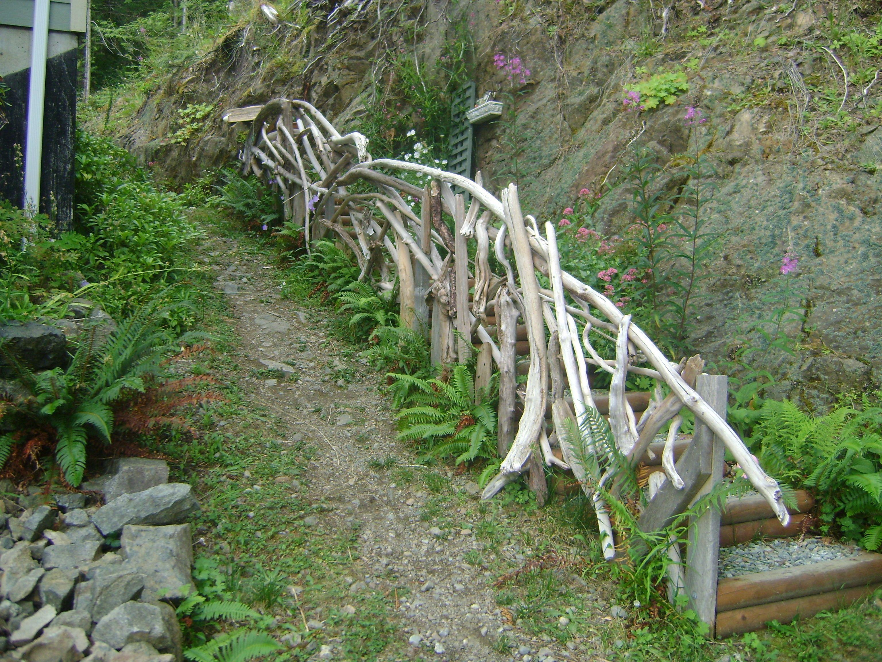Best Driftwood Handrail Driftwood Handrail 400 x 300