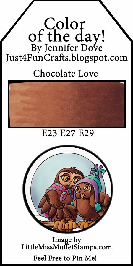 Just4FunCrafts and DoveArt Studios: Color of the Day 133