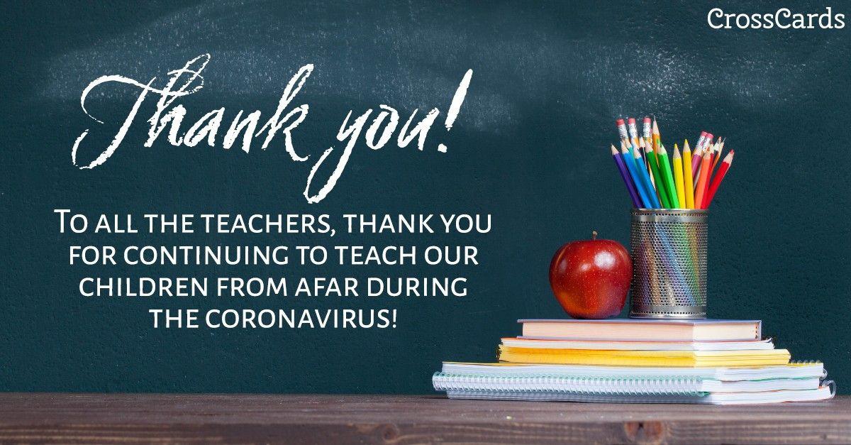 God Bless You All In 2020 Your Teacher Free Ecards Thank You Teacher Encouragement