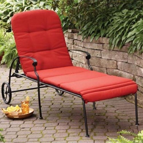 Outdoor Chaise Pool Lounge Patio Furniture Adjule Chair Wheels Durable Steel Outdoorchaisepoollounge