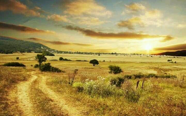 Beautiful Country Road Desktop PC And Mac Wallpaper