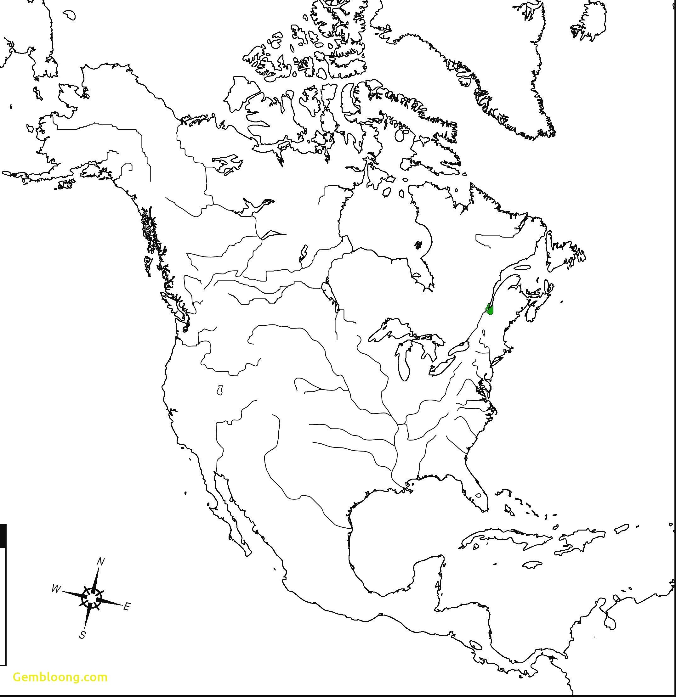 Ultraprecise Map Of Usa And Canada States Political Map Of