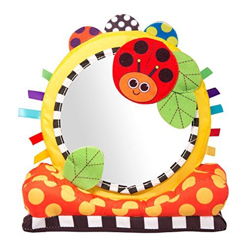 Baby Mirror Toys - Sassy Soft Floor Mirror Toy >>> More info could ...