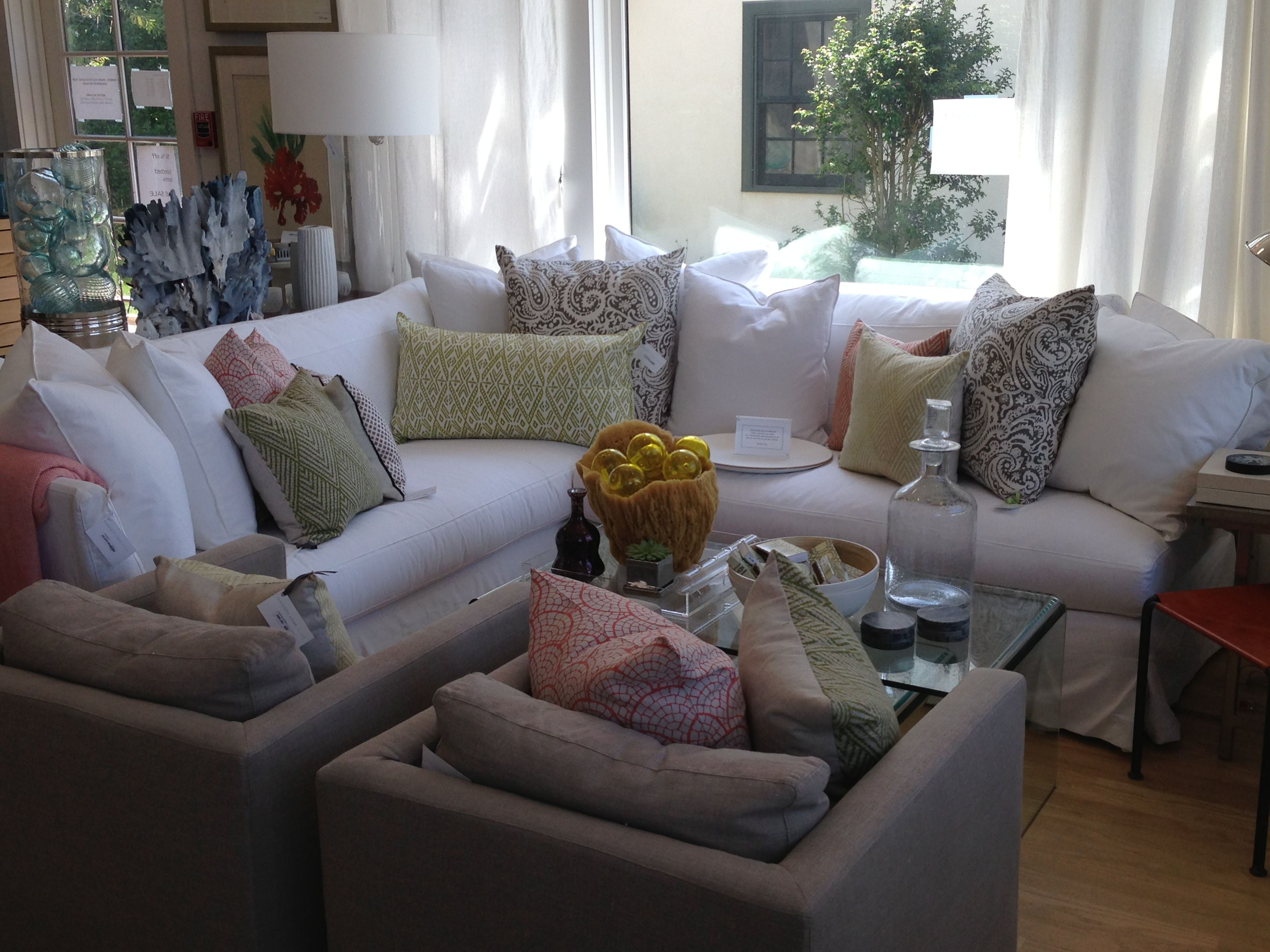 "White Sectional 100"" x 100"" Available Pieces Pinterest"