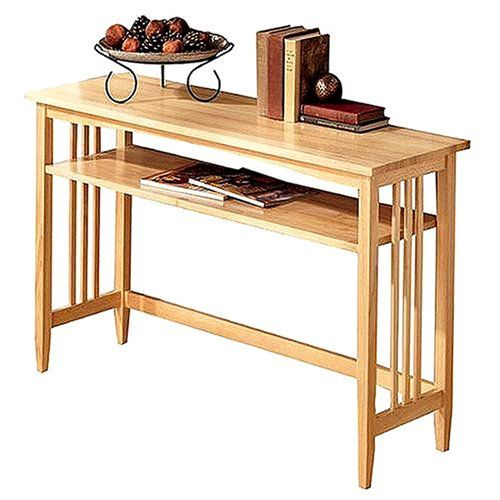Superior Mission Natural Console Table