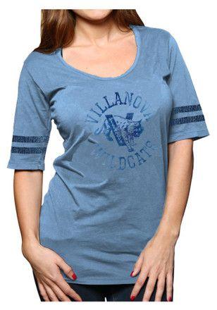 Villanova University Wildcats NCAA T-Shirt Light Blue