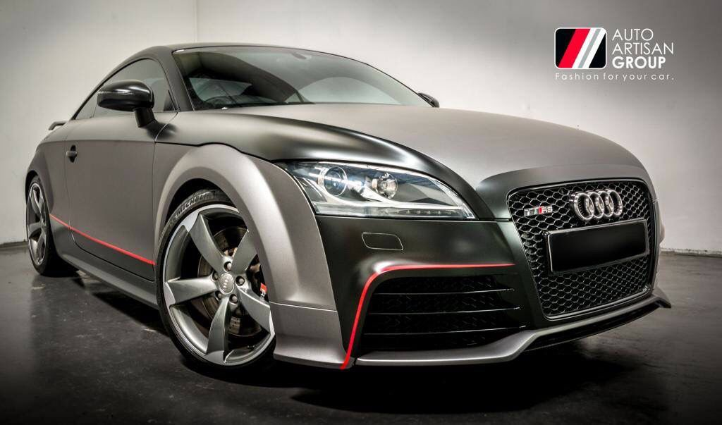 Wrapped By Auto Artisan Audi Ttrs Customised Vehicle Wrap Using