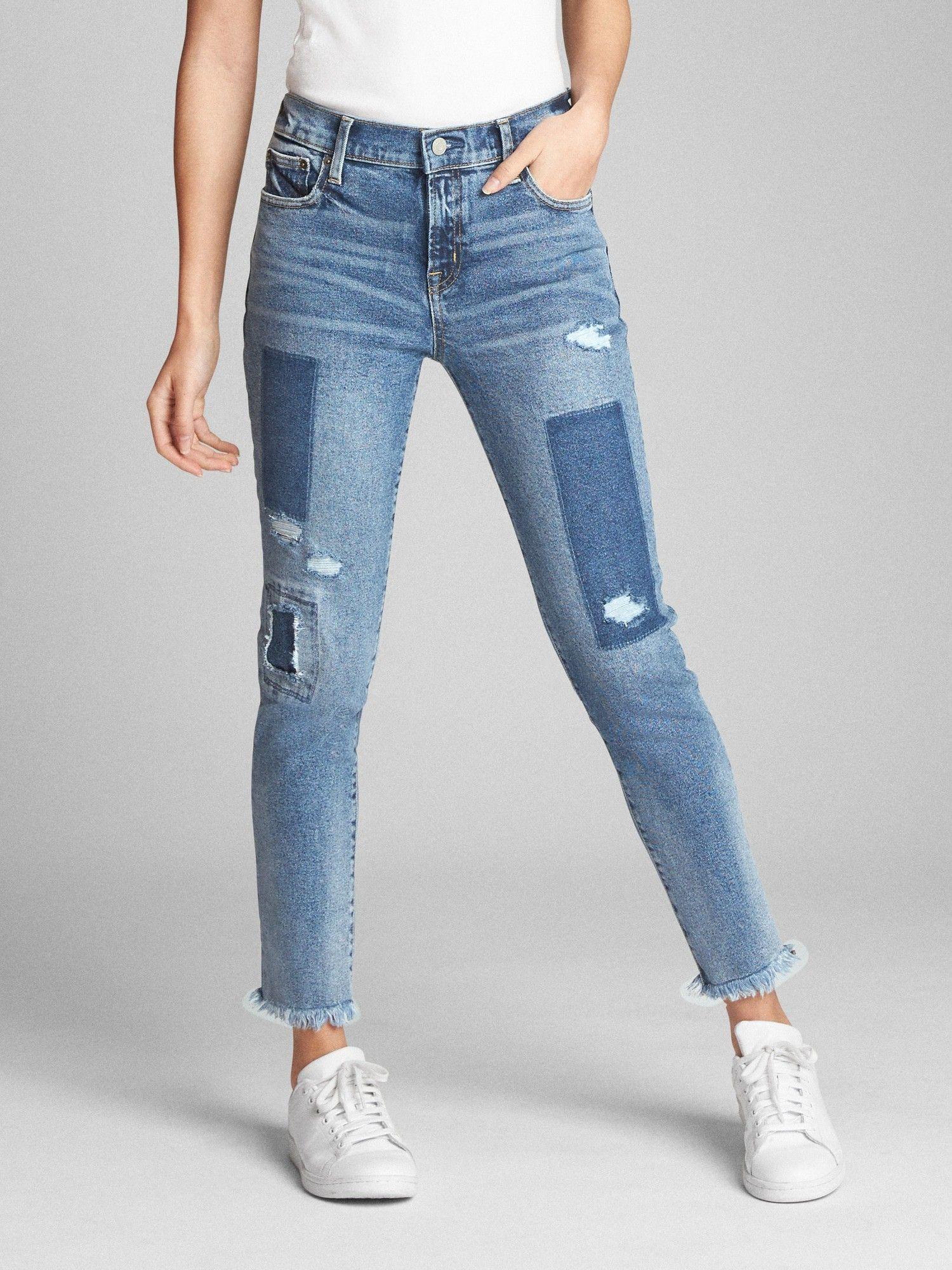 en venta comprar mejor mejor Gap Womens Mid Rise True Skinny Ankle Jeans With Laser-Patch ...