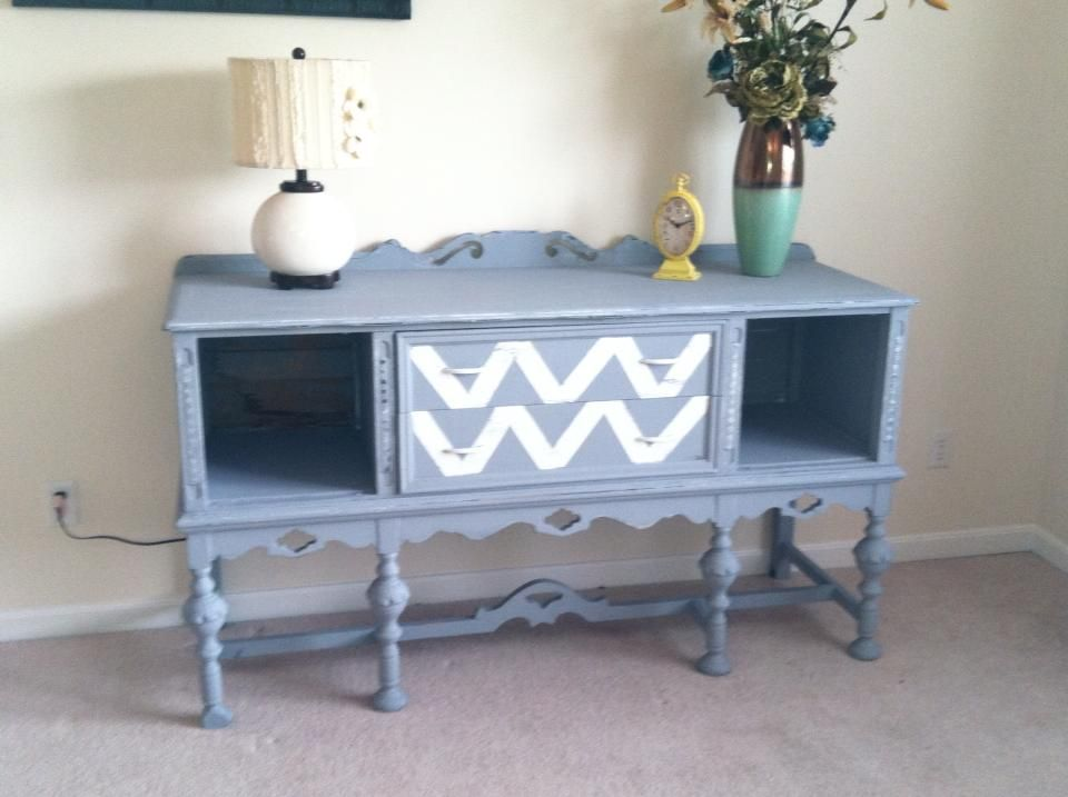 1940s Buffet with Zig Zag drawers