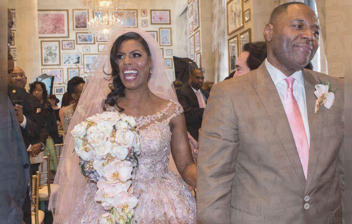 Omarosa Wedding Dress.Omarosa Wedding Dress Pics Omarosa Wedding Reception