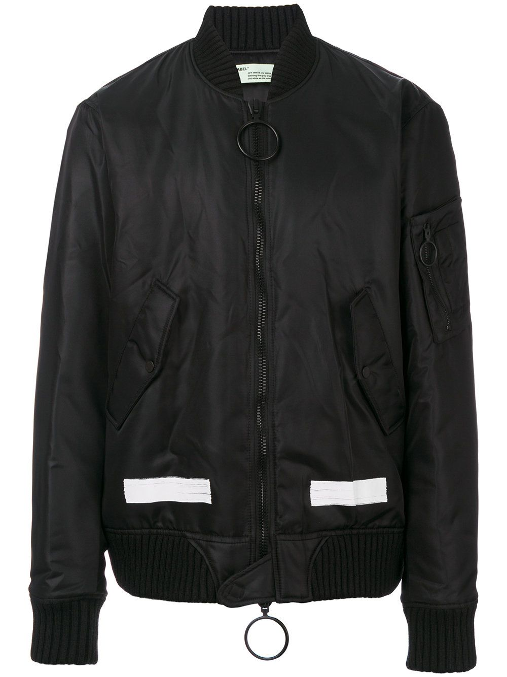 Off White Black Jacket 1142 [ 1334 x 1000 Pixel ]