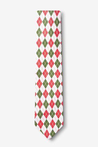 Christmas Argyle Skinny Tie   Christmas lawn decorations ...