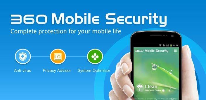 برنامج مكافحة فيروسات للأندرويد 360 Mobile Security