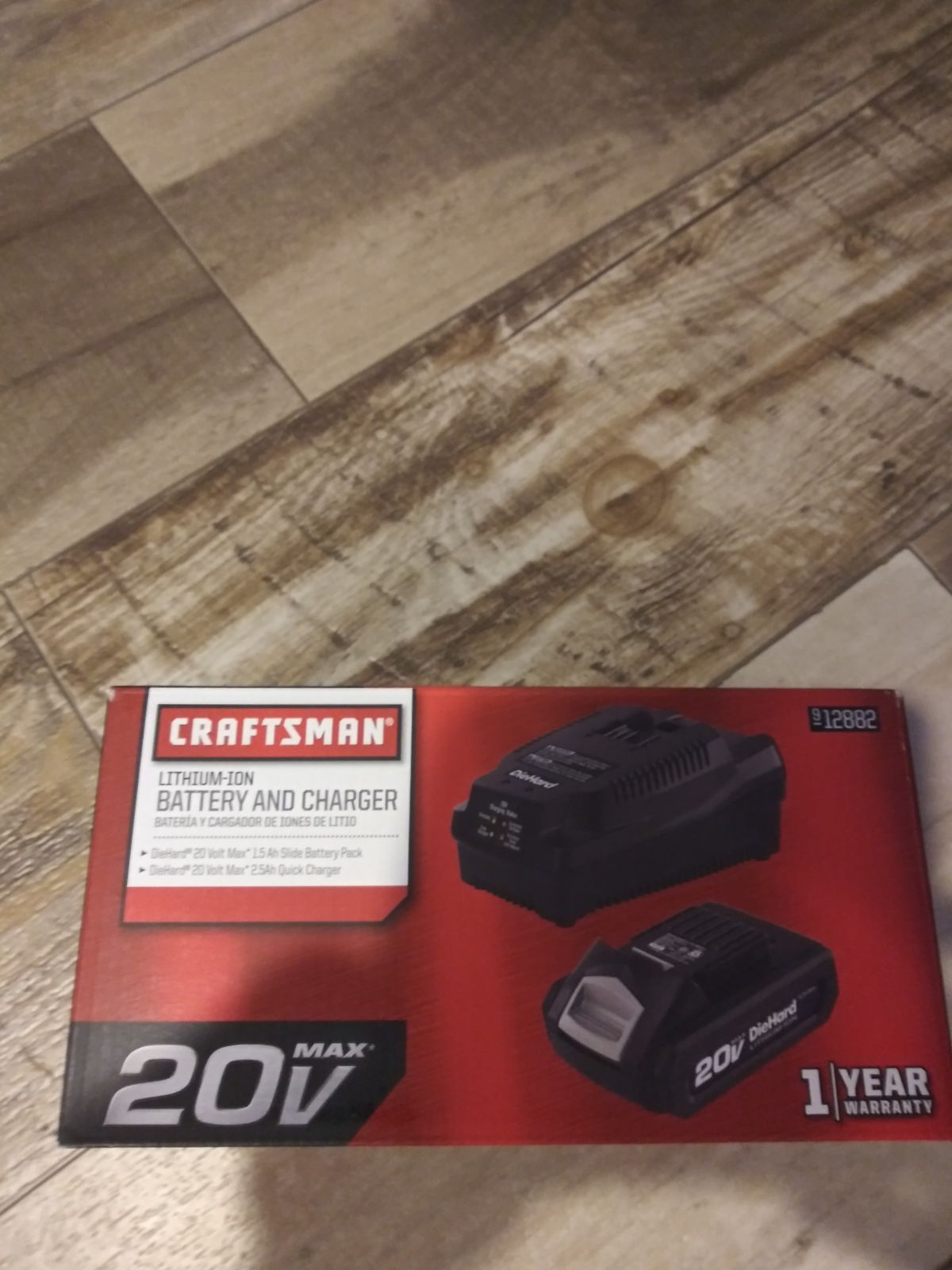 New Craftsman 20 Volt Battery And Charger Charger Craftsman Battery