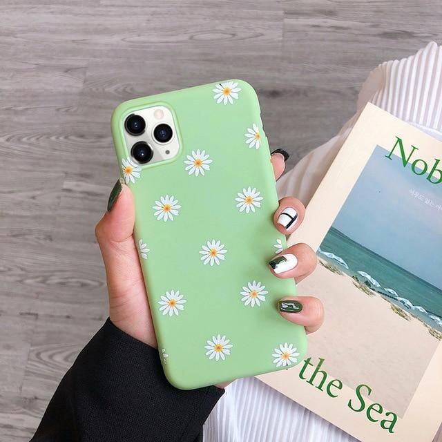 NOWSELLERS™ Art Floral Daisy Case For iPhone