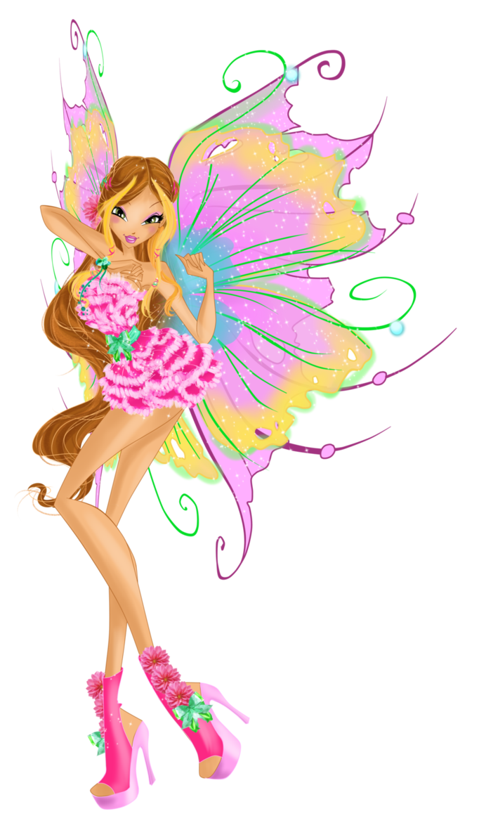 Flora mythix couture by werunchick winx club in 2018 - Bloom dessin anime ...