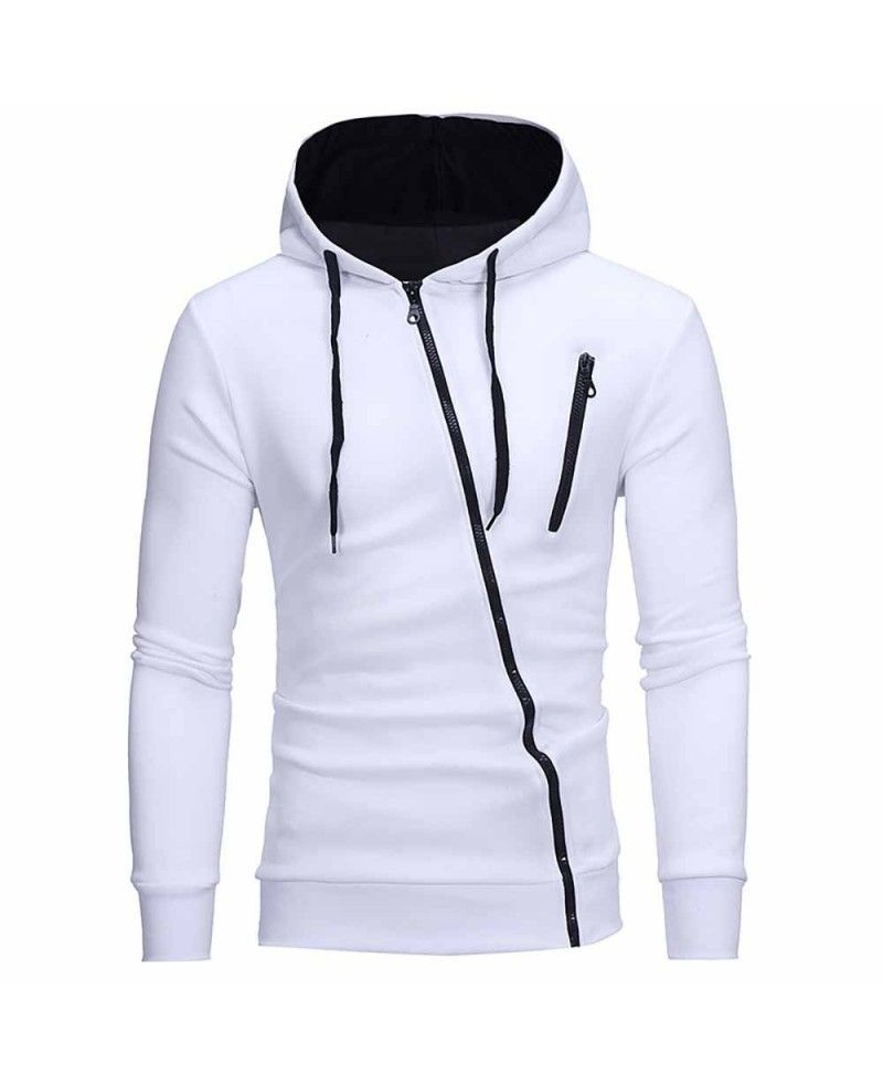 Mens Leather Jacket with Hoodie with Fur.Men Casual Autumn Long Sleeve Slim Solid Color Printed Hooded Coat Tops Blouse