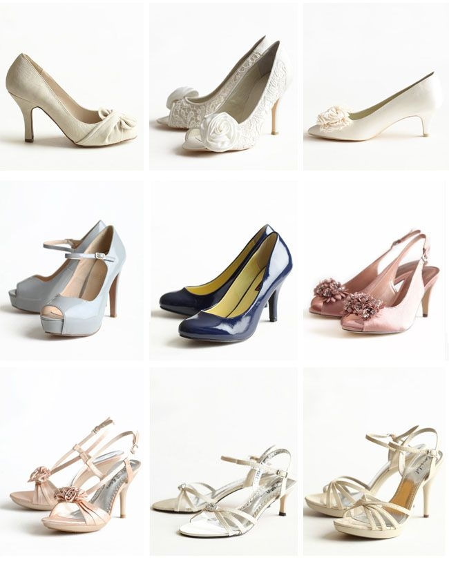 find the perfect wedding shoe #bridal
