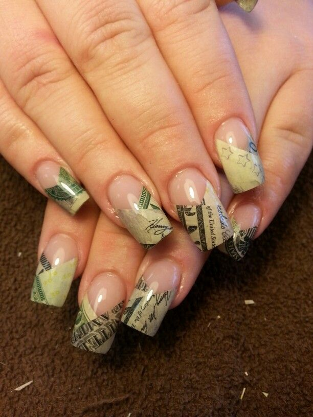 Money Nails I Wanna Try Pinterest Art Nails