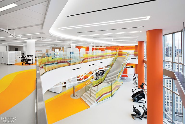 Three major firms collaborate on massive shirley ryan - Top interior design firms chicago ...