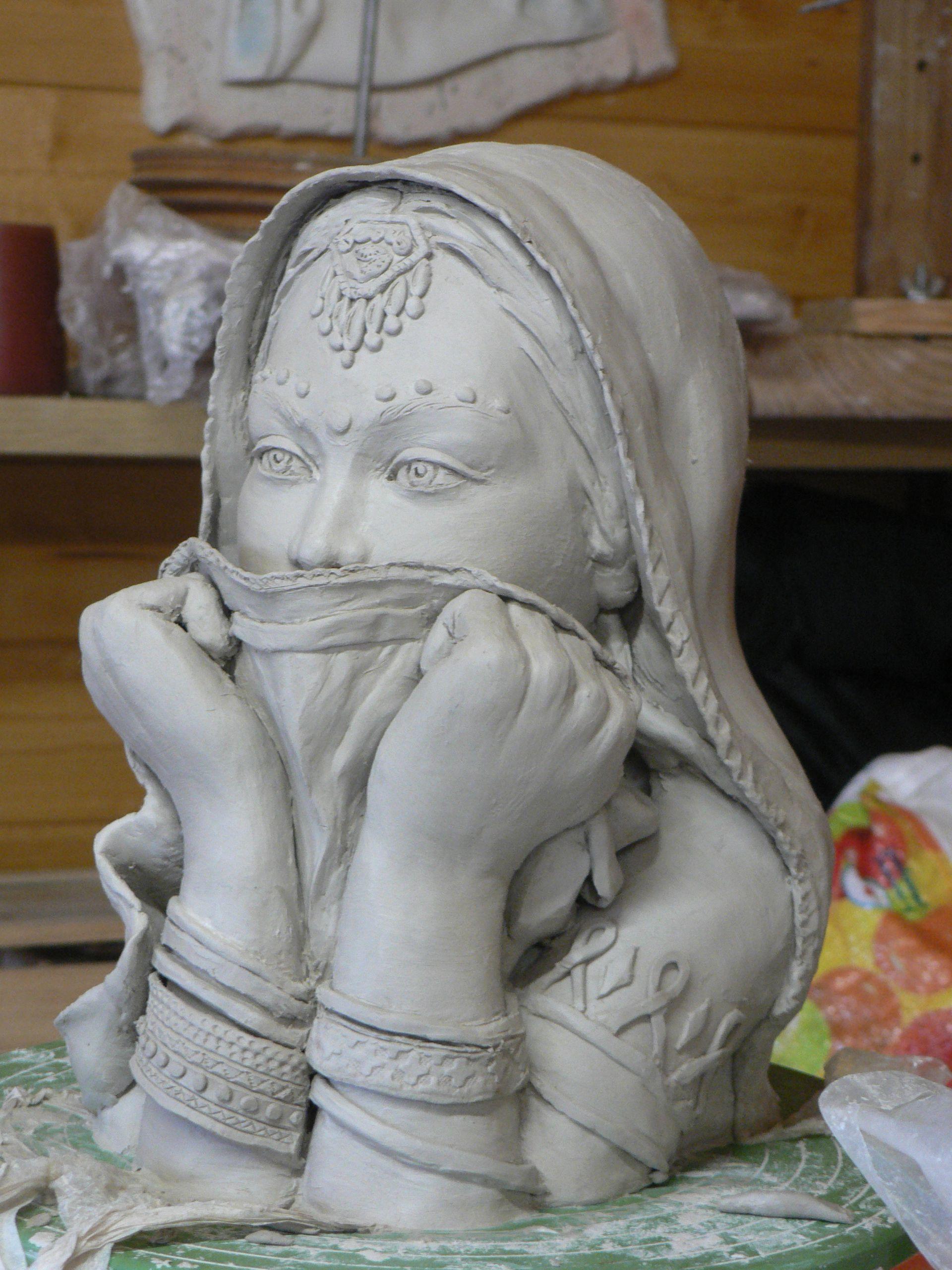 Relativ peggysculpture femme indoue | Statues & Sculptures | Pinterest  EH85