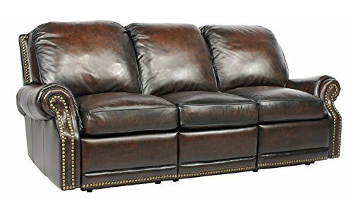 Power Recline BarcaLounger Premier II Electric Reclining Sofa  Stetson Coffee * Click image for more details.