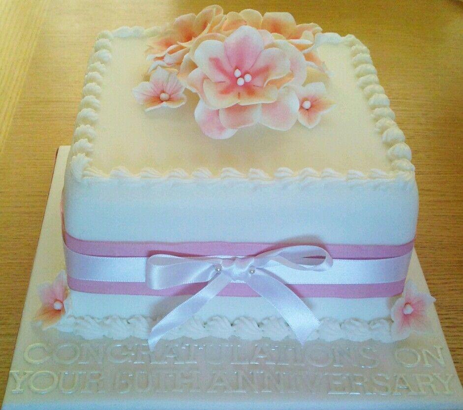 Simple Anniversary Cake