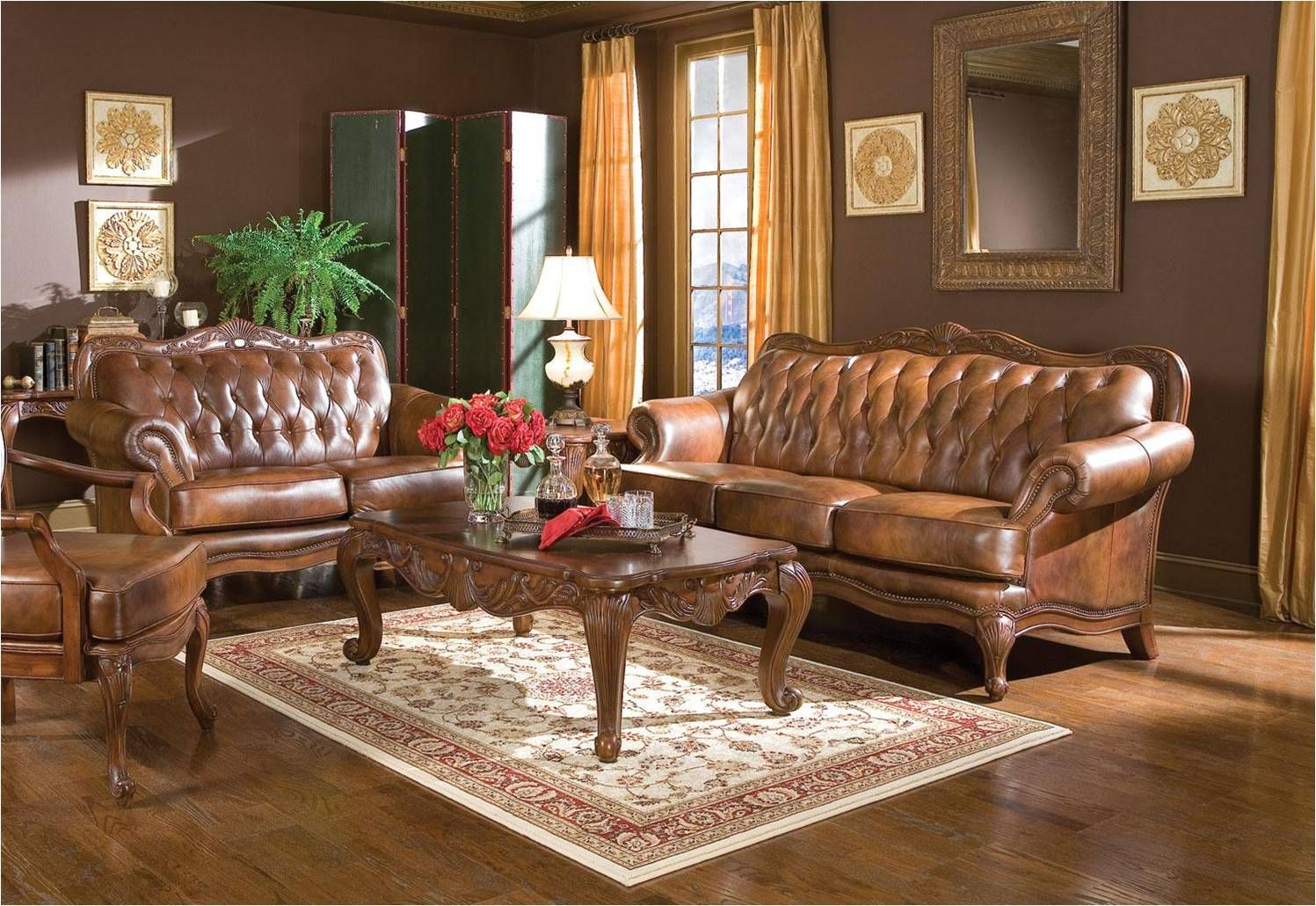 A Brown Leather Sofa S Effect In Your Living Room Brown