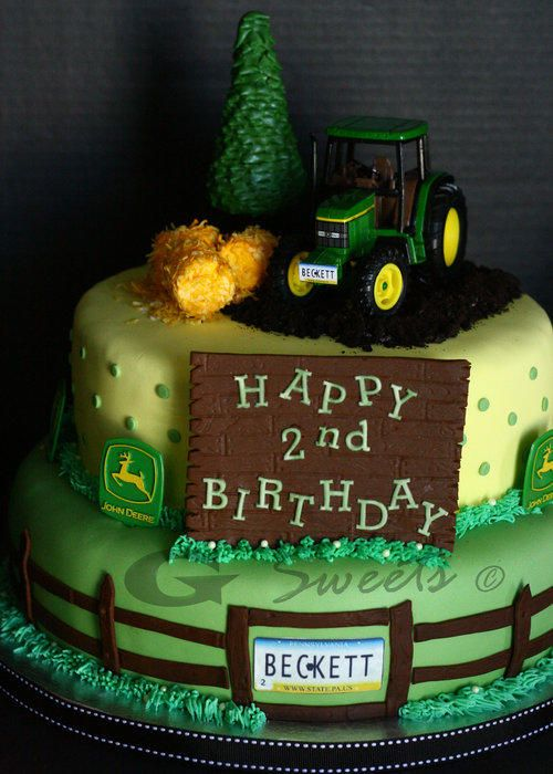 John Deere Cake - Cake by G Sweets