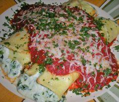 vendita calda reale up-to-date styling alta moda Olive Garden Manicotti Formaggio Copycat recipe | pasta ...