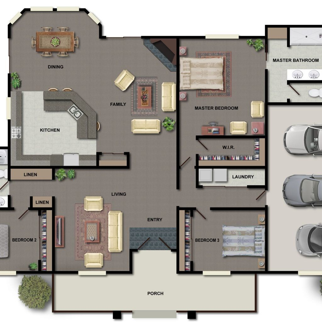 Home Floor Plans With Pictures