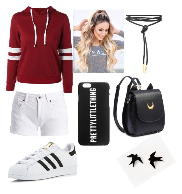 """Can stars shine again? Main Character: Alex"" by aprilmdeutsch ❤ liked on Polyvore featuring Barbour International and adidas"