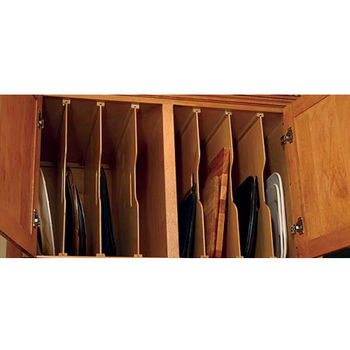 Cabinet Organizers - Kitchen Cabinet Organizers by Hafele, Rev-A-Shelf, Knape & Vogt, Omega National, Rolling Shelves and More #cabinetorganizers