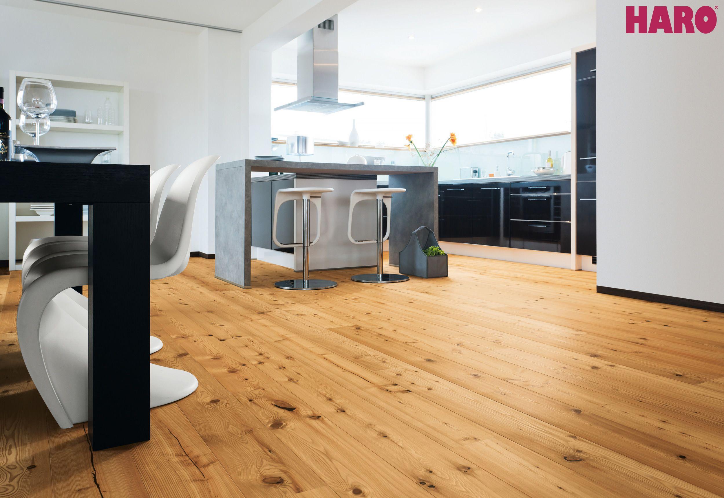 Haro Parquet 4000 Plank 1 Strip 4v Larch Sauvage Brushed Item 523353 Flooring Parquet Wooden Floorboards
