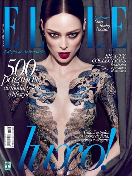 Coco Rocha Sounds Off Over Excessive Photoshopping Of Her Elle Brazil Cover - Sky Living HD