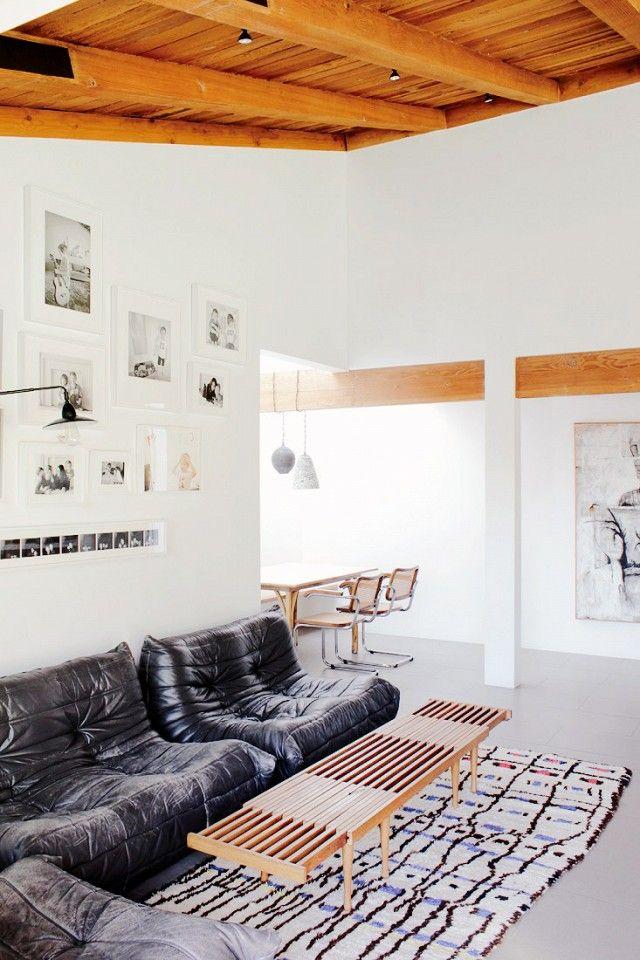 Bohemian Modern Bungalow Living Room