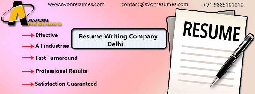 Looking for Resume writing service provider in Delhi? Avon Resumes