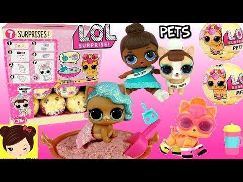 Pets Hacen PipiLloran 3 Mascotas Que Juguetes Lol Surprise Serie wmvN8n0