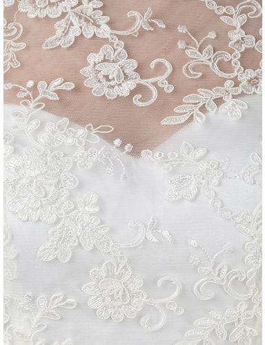 LUXUAR Abendkleid mit Spitze in Weiß online kaufen ...
