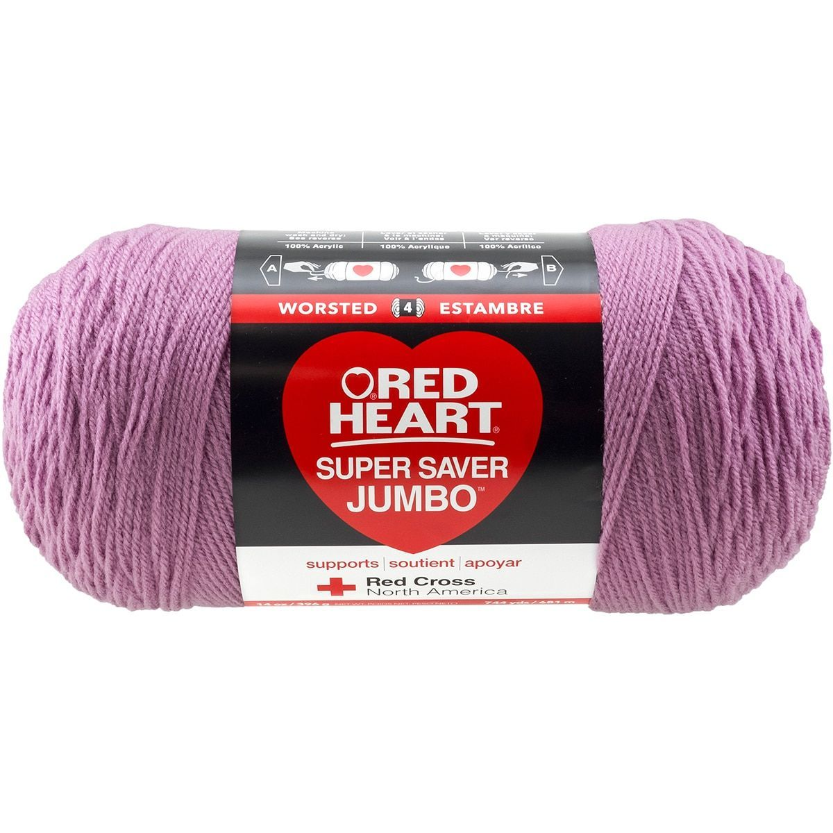 Red Heart Super Saver Yarn-Orchid