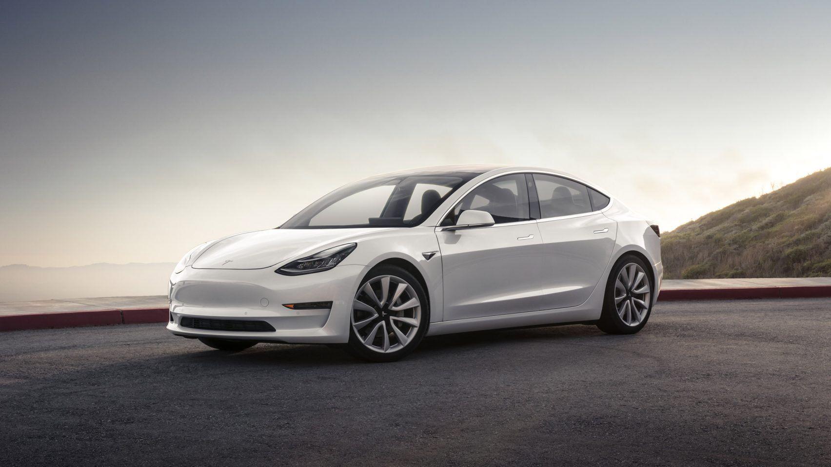 Tesla Unveils First Mass Market Electric Vehicle The Model 3 Tesla Model