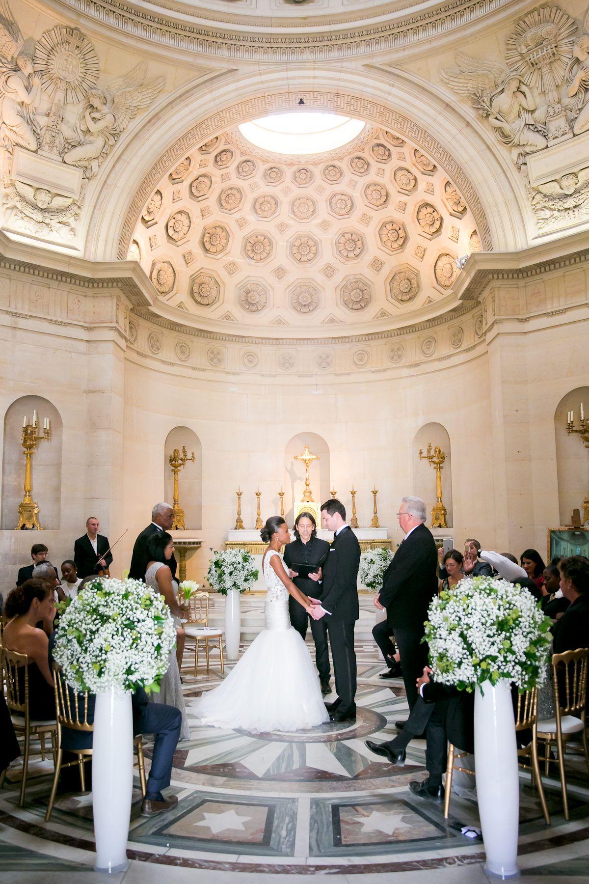 Intimate + Elegant Wedding in Paris (With images)   Paris ...