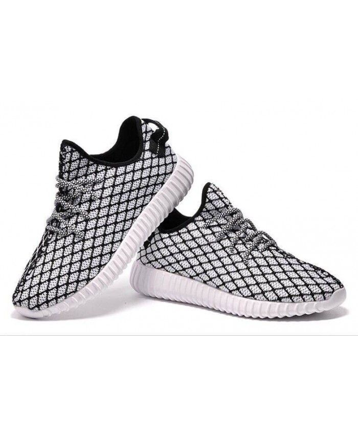 1832109436767 Adidas Yeezy 350 Boost Black White Trainers Sale UK