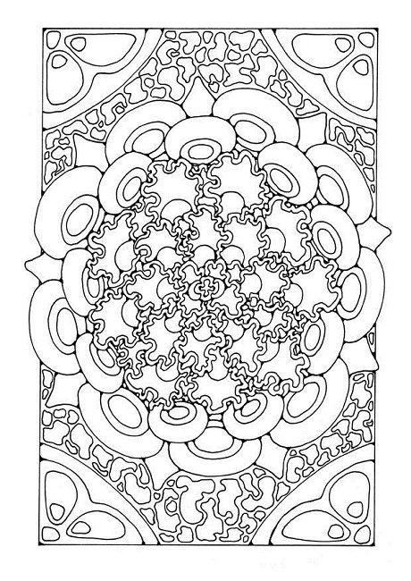 Mandala Coloring Pages A4 Design Mandala Coloring Pages