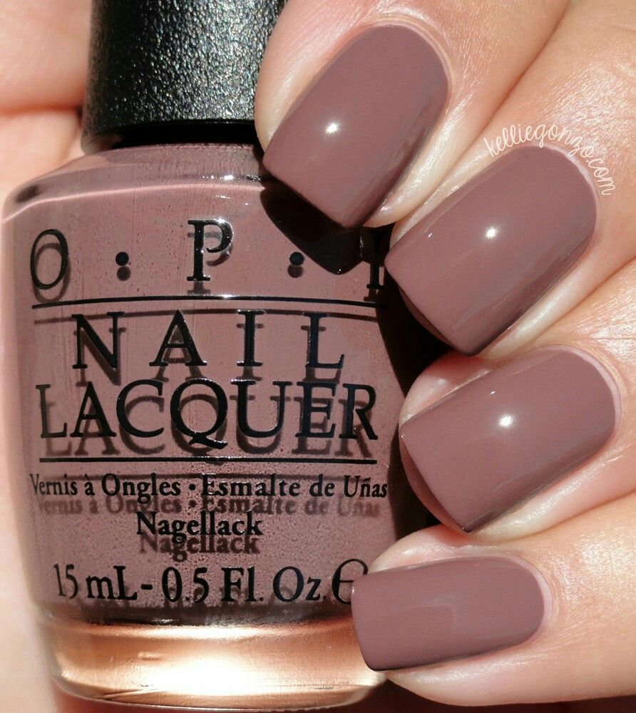 Opi Squeaker Of The House Brown Nail Polish Fall Color