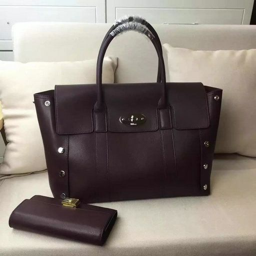 discount mulberry small willow tote in oxblood fe74f 08dd5  australia 2016  a w mulberry new bayswater tote oxblood smooth calf with studs 81592 5e499 37ba54ee26b37