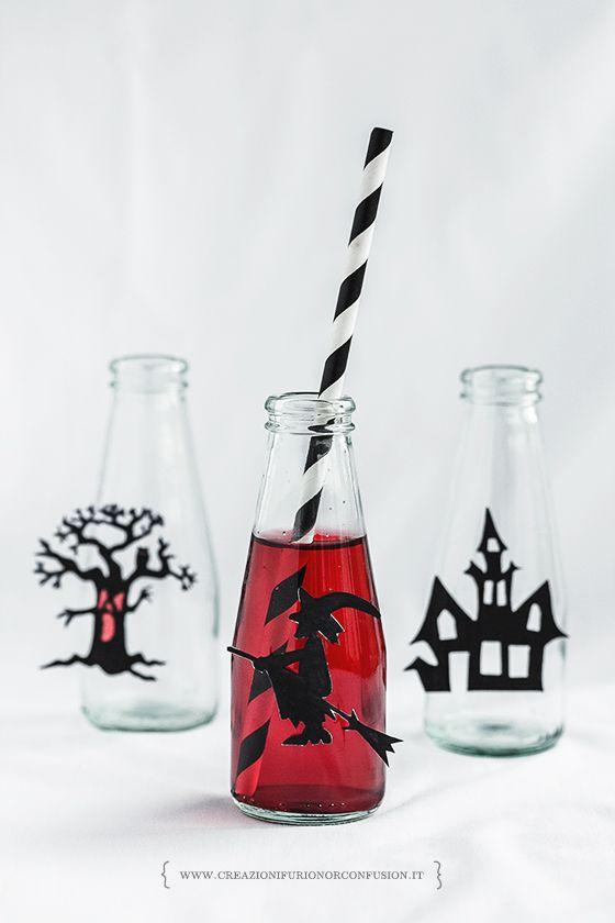 Lo Shirley Temple di Halloween è un'idea golosa e carina per rendere colorata la tavola della vostra festa. Un bel gioco e un cocktail perfetto per i bimbi.